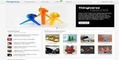 thingiverse sites to copy 3D printing