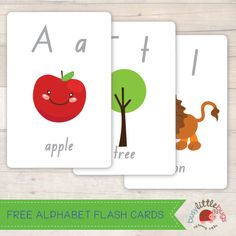 Free Alphabet Flash Cards by Busy Little Bugs (free for a limited time. Download your copy today)