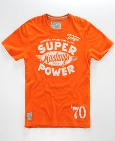 I love orange  SuperDry
