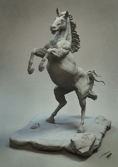 ArtStation - Horse anatomy study, gael kerchenbaum