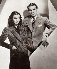 Vivien Leigh and Olivier