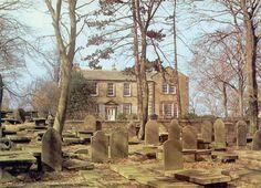 Haworth churchyard.