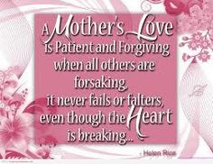 Wonderful Quote About Mothers Love: A Mother Love Is Full Of Patient And Forgiving Quote On Pink Happy Mothers Day Wishes, Happy Mothers Day Images, Happy Mother Day Quotes, Mothers Day Pictures, Mother Images, Happy Father, Mother Poems, Mothers Day Poems, Funny Mothers Day
