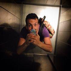 Self-timer in the elevator @princi_milano #selfie #timer #princi #i_love_photo #iphone5 #kiss #friends #social_network #work #elevator #isola #viale #pasubio #garibaldi #top #instagram #foursquare #pinterest #tumblr #twitter #like #day #location #city (presso Princi)