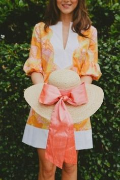 big hat and Lily