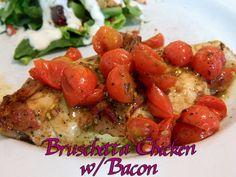 Eating Bariatric: Bruschetta Chicken w/Bacon