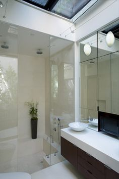 Sunken Tub and Shower Combo | More Master Bath Addition With Walk ...