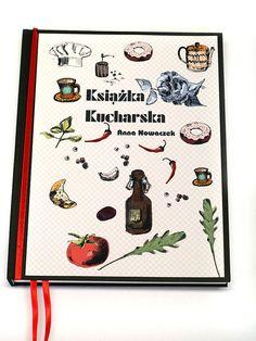 #niezchinzpasji Własna Książka Kucharska! - format A5 w Studio Mini Forma na DaWanda.com