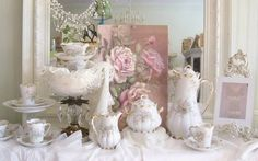 Shabby chic lighting, shabby chic mirrors and all sorts of decor items for every room in your home.