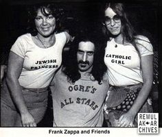 zappa & friends Religious Jokes, Frank Vincent, Ron Woods, Frank Zappa, Rock Legends, Music Photo, Jim Morrison, Female Singers, Jimi Hendrix