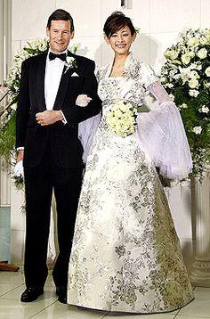 asian inspired wedding dresses