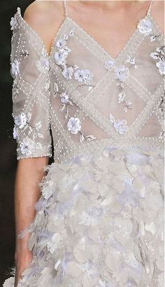 Beading and embroidery -Chanel