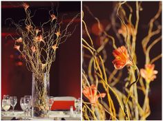 Gorgeous wedding flowers and tablescapes