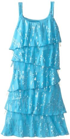 Amy Byer Girls 7-16 Knit Sequin Dress $30.80 (save $13.20)