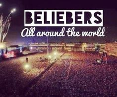 #Beliebers are the biggest, strongest, best family in the world! I love you guys! #Family