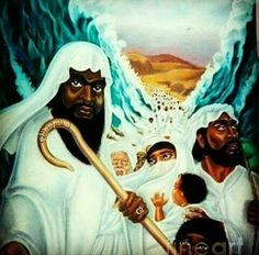 Moses and the real ISRAELITES of the bible are BLACK according to the bible. So is Christ, black... Research IT for yourself and see. Satan the devil fools the whole World with White wash lies. #HebrewIsraelites spreading TRUTH #ISRAELisBLACK ... GatheringofChrist.org ... #GOCC on YouTube