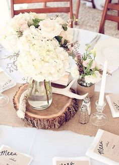 Antlers are awesome for weddings – I'd say for almost any wedding theme and style you choose: rustic, woodland, boho, beach, backyard and so on.