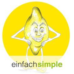 Zitronenmann www.einfach-simple.at Illustration, Cooking, Lemon, Simple, Cuisine, Kitchen, Illustrations, Brewing, Kochen