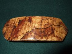 Wood Wooden Barrette Hairclip Spalted Maple Burl by Thingsinwood18, $34.00