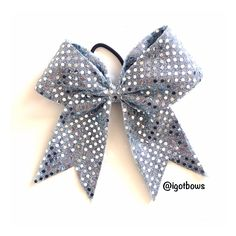 Softball Bow from @igotbows on Instagram