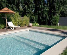 """Résultat de recherche d'images pour """"piscine 7x3.5 liner gris"""""""
