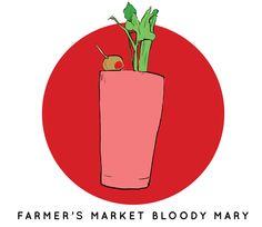 Farmer's Market Bloody Mary Recipe