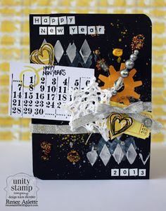 Unity Stamp Co. Design Team Member - @Renee Aslette - using the Unity Stamp Co. - Iron Orchid Designs - {Welcome to My Life}  http://www.unitystampco.com
