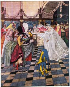 Artuš Scheiner - Illustration for Fairy Tales by K.J. Erben