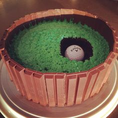 Golf Cake!! #golf #cakes