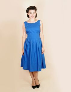 Hey, I found this really awesome Etsy listing at https://www.etsy.com/listing/150909142/vintage-style-ink-blue-rockabilly-50s