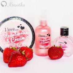 Skvelá vôňa Strawberry & Cream značky I Love.