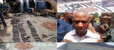 Notorious kidnapper Chukwudubem Onwuamadike aka Evans and his gang members arrested yesterday read here finally paraded with their weapons in Lagos.  AFTER about three months of search police officers from Abuja Saturday afternoon finally arrested a notorious kidnapper in his Magodo hideout in Lagos it was reported that during the arrest he was wearing a designers wrist watch which costs $170000. .  The most-wanted kidnap kingpin Chukwudimeme Onuamadike simply known as Evans was picked up…