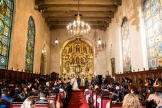 ceremony site The Mission Inn Wedding Kevin Le Vu Photography49