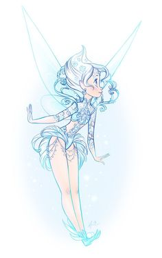 Periwinkle by doodlelust disney fan art, disney pixar, walt disney, princess art, Tinkerbell And Friends, Tinkerbell Fairies, Disney Fairies, Tinkerbell Drawing, Fairy Drawings, Disney Drawings, Drawing Disney, Tinker Bell, Disney Tattoos
