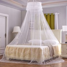 christmas decoration Luxury Bud Silk Bed Canopy Mosquito Net Beds Canapy Bug Fly Bee Netting Mesh Bedroom CurtainsWN03Free Shipping -- AliExpress Affiliate's buyable pin. View the item in details on www.aliexpress.com by clicking the VISIT button