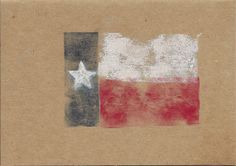 Rustic Texas Flag Card perfect for a note or bbq invitation. See website to purchase