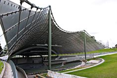 Building: Sidney Myer Music Bowl, Melbourne Architect: Barry Patten  I know, the building is 99.9% look like Frei Otto's Olympic Stadium in ...