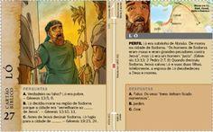 Cartão Bíblico: Ló
