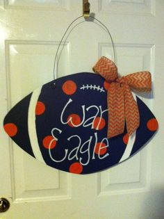 Auburn Door Sign
