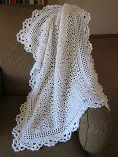 FREE Crochet Afghan Pattern - Roses Remembered Free via ravelry