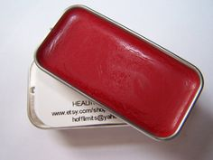 Mineral Lips  New York Red Matte Finish Lip by KeepingItNatural, $7.50
