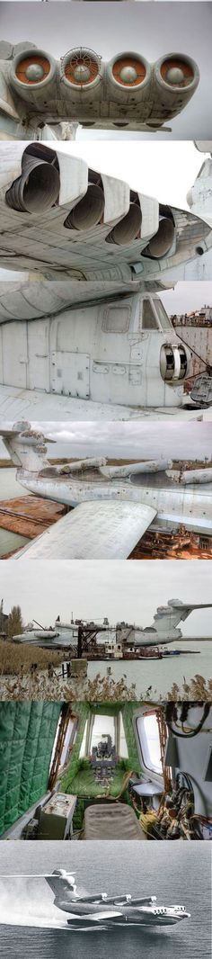 Ekranoplan Casspian The Russian Tank-Ship-Plane