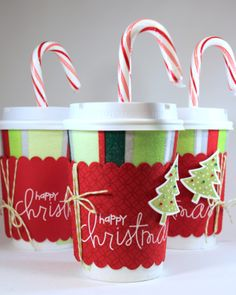 Sprinkled With Glitter: Coffee Cup Gift Card Holder-Teacher Christmas Gift
