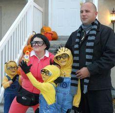 Minions Family Halloween Costume