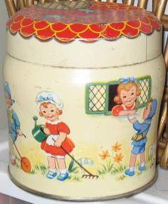 antique tin by septemberish, via Flickr