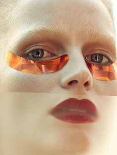 Katrin Thormann Beauty shoot for Vogue Ukraine Magazine May 2016