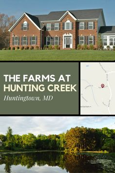 The Farms At Hunting Creek Is A Community Of New Homes In Huntingtown Md See These For From Quality Built
