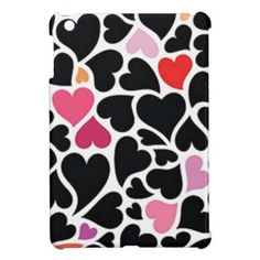 Shop Black Harts iPhone 4 Case created by ImGEEE. Iphone 6 Cases, Samsung Galaxy Cases, Cool Phone Cases, Iphone 4, Ipad Mini Cases, Ipad Case, Hearts, Black, Phone Accessories