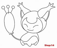 How to draw Skitty step by step 14 Pokemon Skitty, Draw Pokemon, Pokemon Stuff, Drawing Base, Drawing Tips, Drawing Stuff, Colorful Drawings, Cute Drawings, New You Challenge
