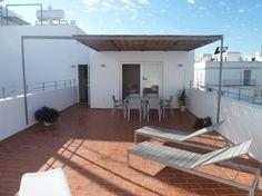 Schau Dir dieses großartige Inserat bei Airbnb an: Modern 100 m² Apartment + 50m² Terrasse für 8 Personen - Apartments zur Miete in Conil de la Frontera